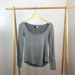 BDG UO • Waffle Knit Thermal Top Size Small
